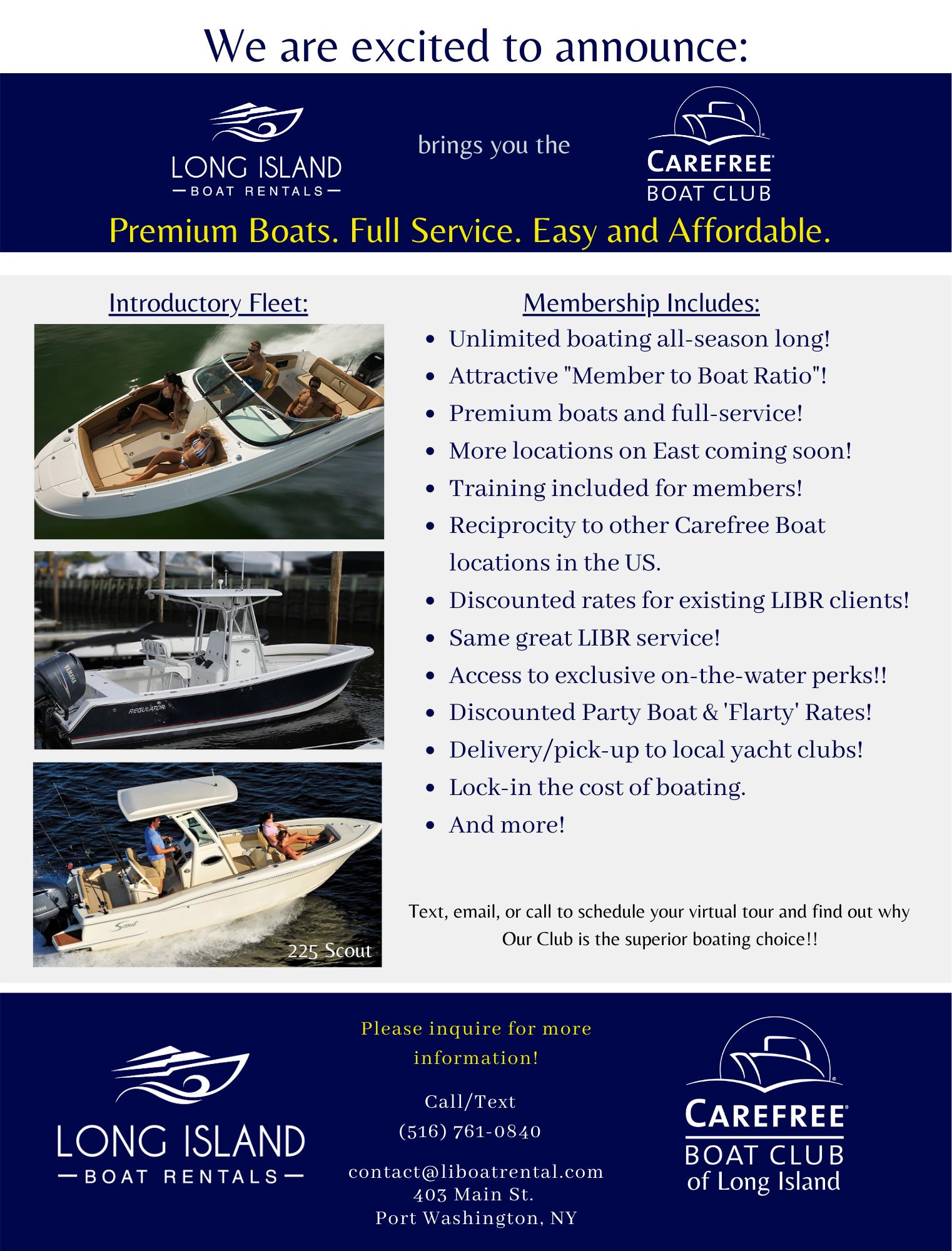 2021 Carefree Boat Club Membership Info